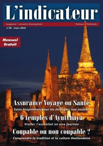 L'indicateur Thailande